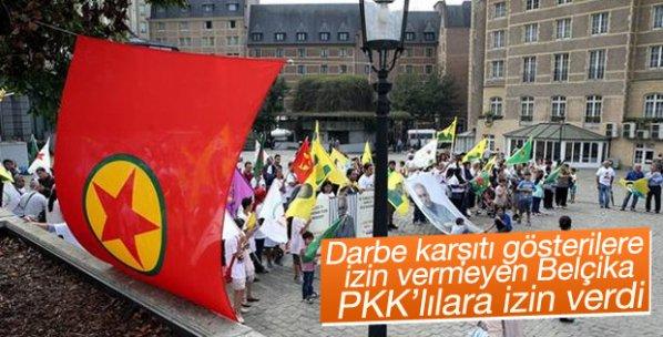 Belçika, PKK'ya gösteri yapmaları için izin verdi