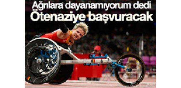 Belçikalı paralimpik atlet ötenaziye başvuracak
