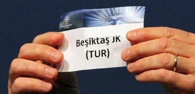 Beşiktaş'ın torbası belli oldu