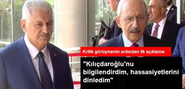 Binali Yıldırım: Kılıçdaroğlu'nu Kanun Hükmünde Kararnameler İçin Bilgilendirdim
