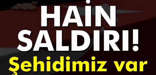 Bitlis'te terör saldırısı: 1 uzman çavuş şehit