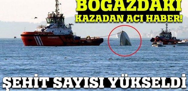 Boğaz'daki kazada şehit sayısı yükseldi!