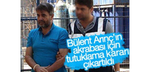 Bülent Arınç'ın akrabası için tutuklama kararı çıkartıldı