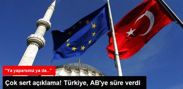 Çavuşoğlu: AB Vizesiz Seyahati Ekim'e Kadar Sağlamaz İse Mültecileri Durdurmayız