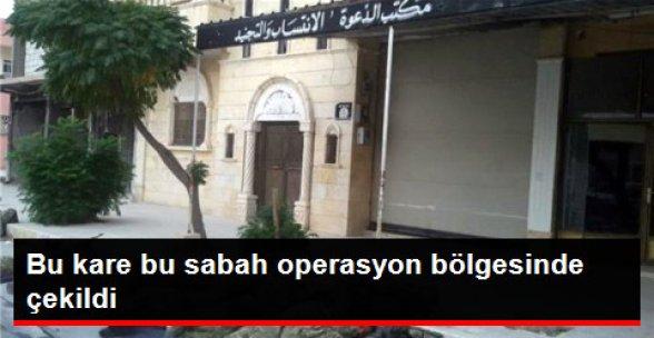 Cerablus'a Giren ÖSO Askerleri Sokakta Uyudu