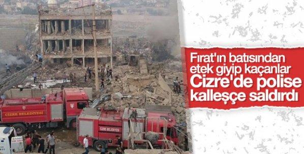 Cizre'de polis noktasında patlama