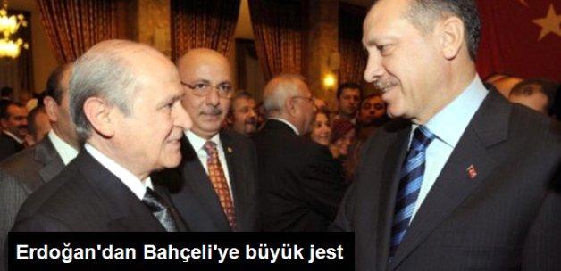 Cumhurbaşkanı Erdoğan Bahçeli'nin Tweet'ini Twitter Hesabından Paylaştı
