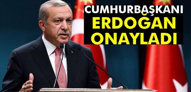 Cumhurbaşkanı Erdoğan, İsrail ile Normalleşme Anlaşması Kanunu'nu onayladı