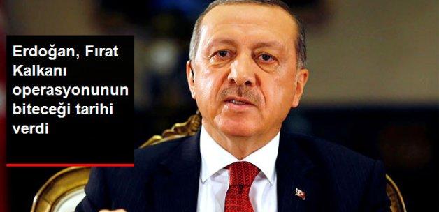 Cumhurbaşkanı Erdoğan: Operasyonlar YPG Tehdit Olmaktan Çıkana Kadar Sürecek