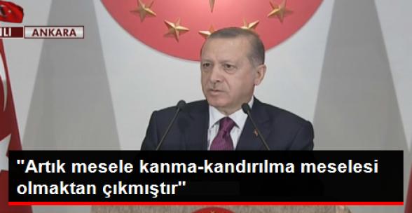 Cumhurbaşkanı Erdoğan Şehit Aileleriyle Külliye'de Biarada