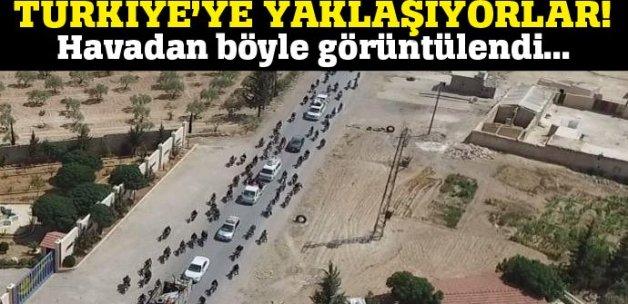DAEŞ'li teröristler Türkiye'ye doğru kaçıyor