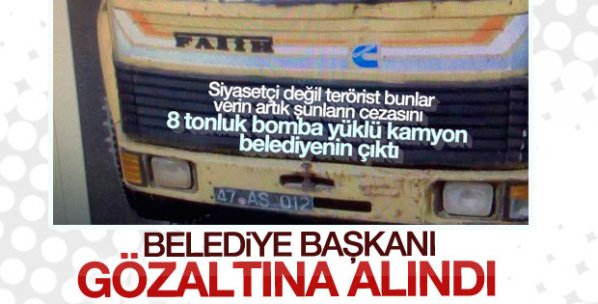 DBP'li Mazıdağı Belediye Başkanı gözaltına alındı