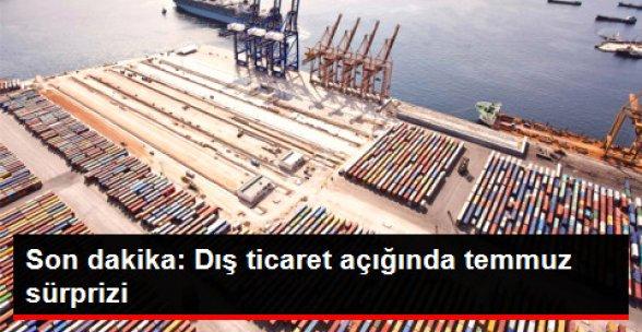 Dış Ticaret Açığı Temmuzda Yüzde 32.5 Azaldı