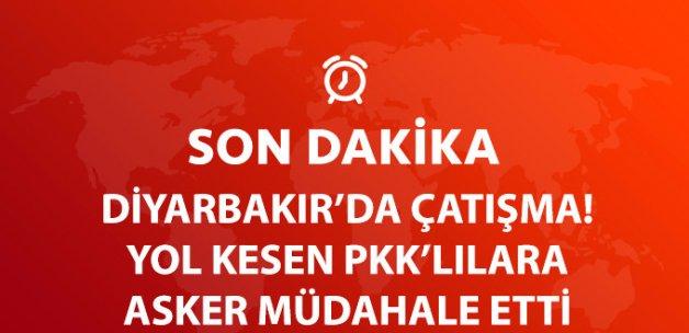 Diyarbakır'da Çatışma: 1 Korucu Yaralandı