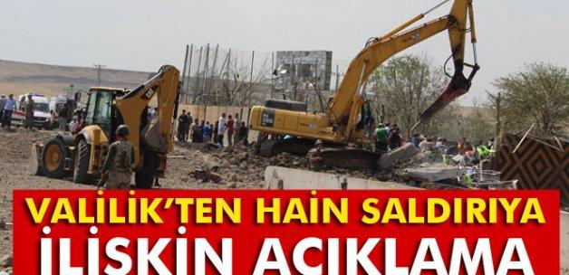 Diyarbakır Valiliği: 'Saldırıda 5'i polis, 7 kişi şehit oldu, 45 kişi yaralandı'