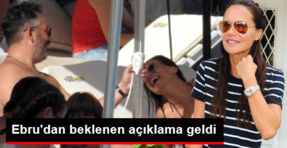 Ebru Şallı'dan Beklenen İtiraf Geldi: İlişkimiz Gayet İyi