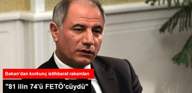 Efkan Ala: 81 İlin 74'ünün Emniyet Müdürü FETÖ'cüydü