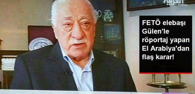El Arabiya, Gülen Röportajını Kaldırdı
