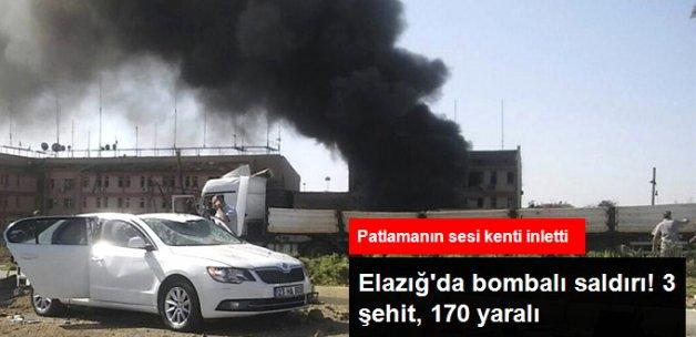 Elazığ Emniyet Müdürlüğü'ne Bomba Yüklü Araçla Saldırı: 3 Şehit 170 Yaralı