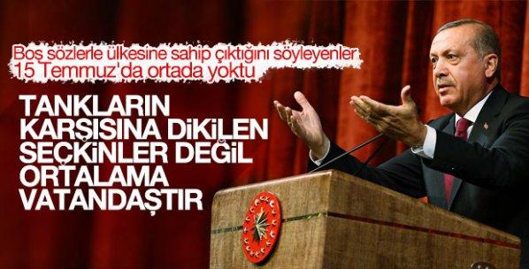 Erdoğan, Baro başkanlarına hitap etti