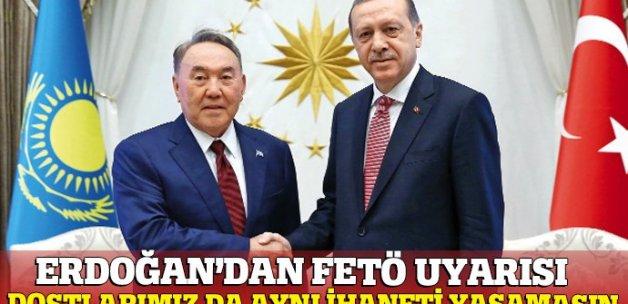 Erdoğan'dan tarihi ikaz: FETÖ tüm dünya için tehdit
