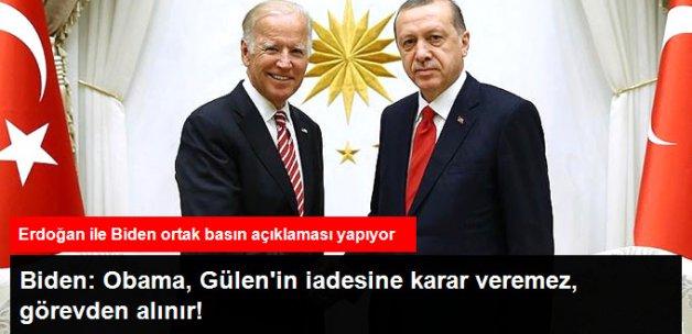 Erdoğan ile Biden Ortak Basın Açıklaması Yapıyor