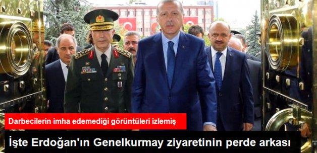 Erdoğan'ın Genelkurmay Ziyaretinin Perde Arkası: Kozmik Kaydı İzledi