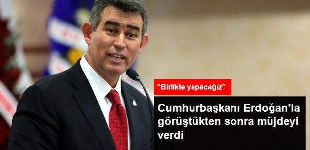 Erdoğan'la Görüşen Feyzioğlu: Size Bir Müjdem Var