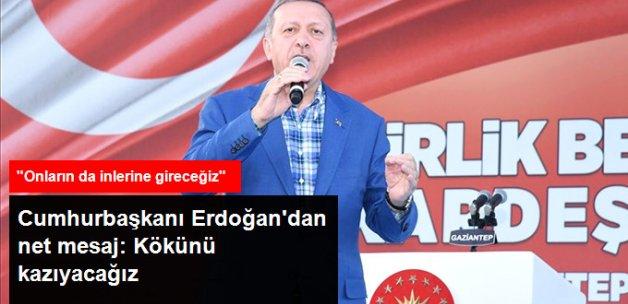 Erdoğan: Suriye'den PYD'nin Kökünü Kazıyacağız