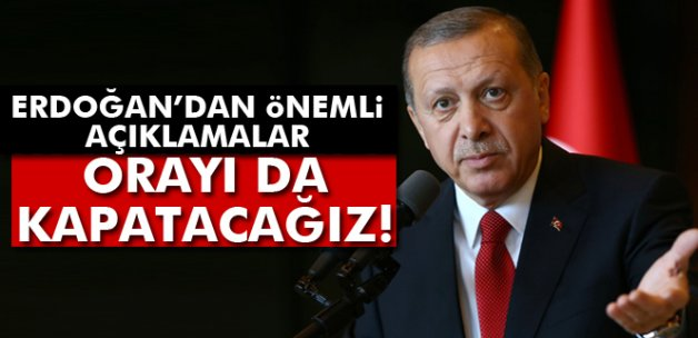 Erdoğan: 'Telekomünikasyon İletişim Başkanlığını kapatacağız'