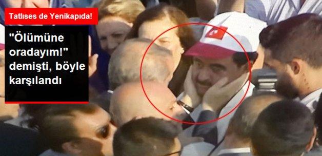Erdoğan Yenikapı Mitinginde İbrahim Tatlıses'i Böyle Karşıladı