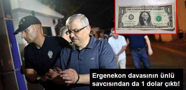 Ergenekon Savcısı Mehmet Ali Pekgüzel'den de 1 Dolar Çıktı