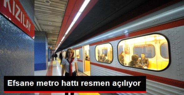 Esprilere Konu Olan Efsane Metro Hattı Resmen Açılıyor