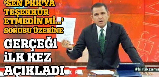 Fatih Portakal: PKK'nın ölüm listesindeyim