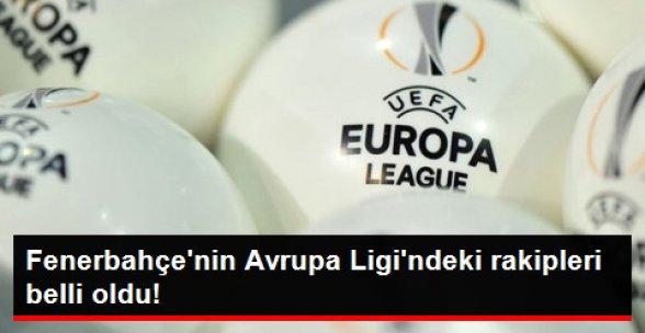 Fenerbahçe, Osmanlıspor ve Torku Konyaspor'un Rakipleri Belli Oldu