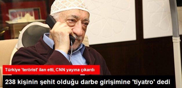 Fethullah Gülen, 238 Kişinin Şehit Olduğu Darbe Girişimine 'Tiyatro' Dedi