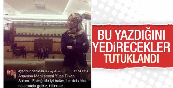FETÖ muhabiri Ayşenur Parıldak tutuklandı