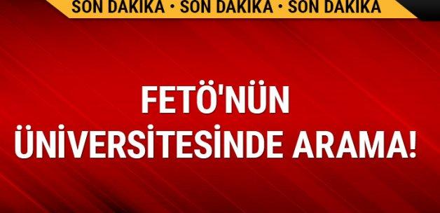 FETÖ'nün Diyarbakır'daki üniversitesinde arama
