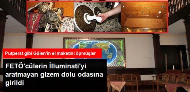 FETÖ'nün Gizem Dolu Odasında FETÖ'cülerin Öptüğü Gülen'in Alçıdan Eli Bulundu