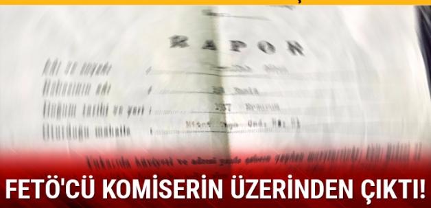 Fetullah Gülen'e ait 43 yıllık sağlık raporu FETÖ'cü komiserin üzerinden çıktı!
