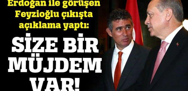 Feyzioğlu, Erdoğan ile görüşmesinden sonra müjde verdi!