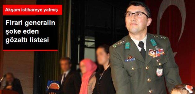 Firari Tuğgeneral Yiğit, Davutoğlu ve Kurtulmuş İçin Gözaltı Emri Vermiş