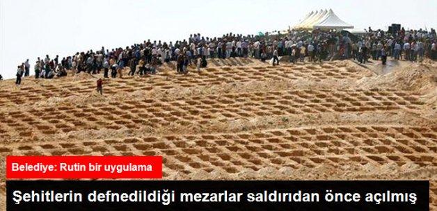 Gaziantep'te Açılan Mezarlarla İlgili Belediyeden Açıklama Geldi