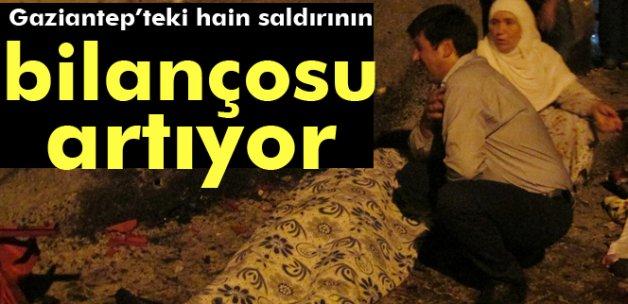 Gaziantep'teki terör saldırısında ölü sayısı 55'e yükseldi