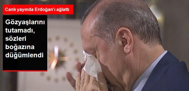 Gazinin Sözleri Cumhurbaşkanı Erdoğan'ı Canlı Yayında Ağlattı