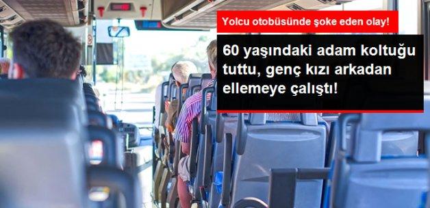Genç Kız Yolcu Otobüsünde Taciz Edildi, Tacizci Tepki Üzerine Otobüsten İndi