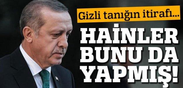 'Gizli Tanık Fatih'in ifadesinde Erdoğan detayı