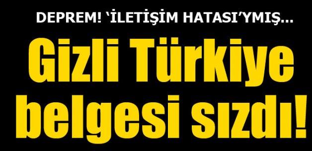 Gizli Türkiye belgesi sızdı, Almanya karıştı