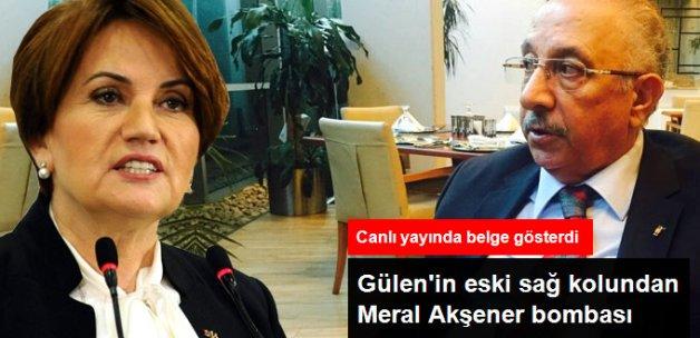 Gülen'in Eski Sağ Kolu: Akşener'i Çiller'e Cemaat Tavsiye Etti