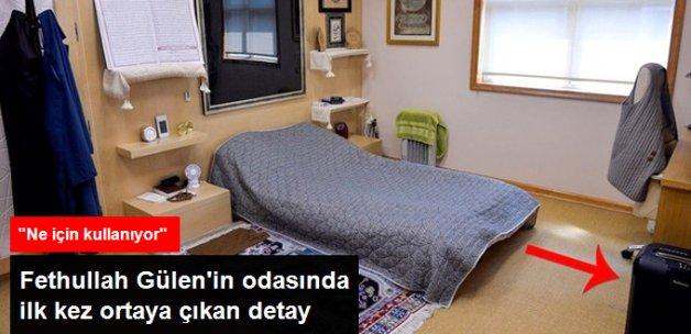 Gülen'in Odasındaki 'Kağıt İmha Makinesi' Dikkat Çekti